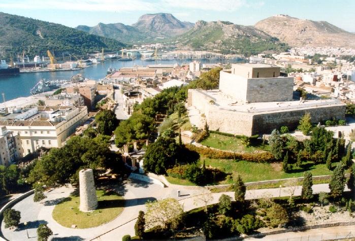 Excursion to Cartagena, views