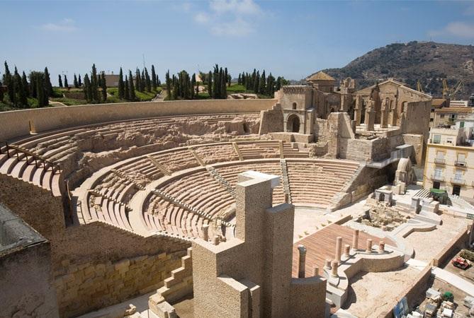 Excursion to Cartagena. Roman theatre