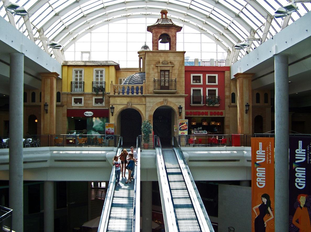 Shopping in Alicante, Gran Via