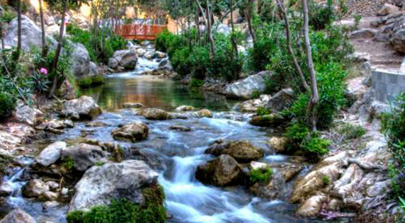 Rio de Las Fuentes del Algar