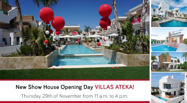 New villas in Ateka Residential