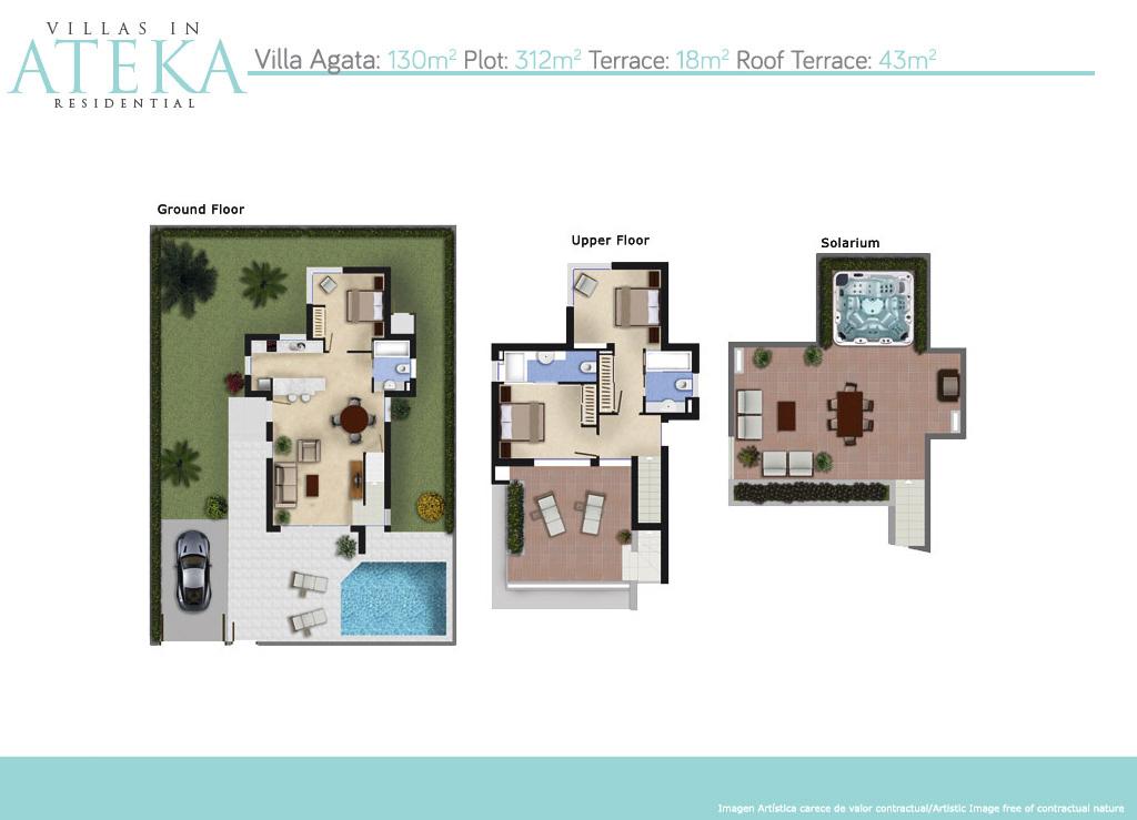 plan villa agata