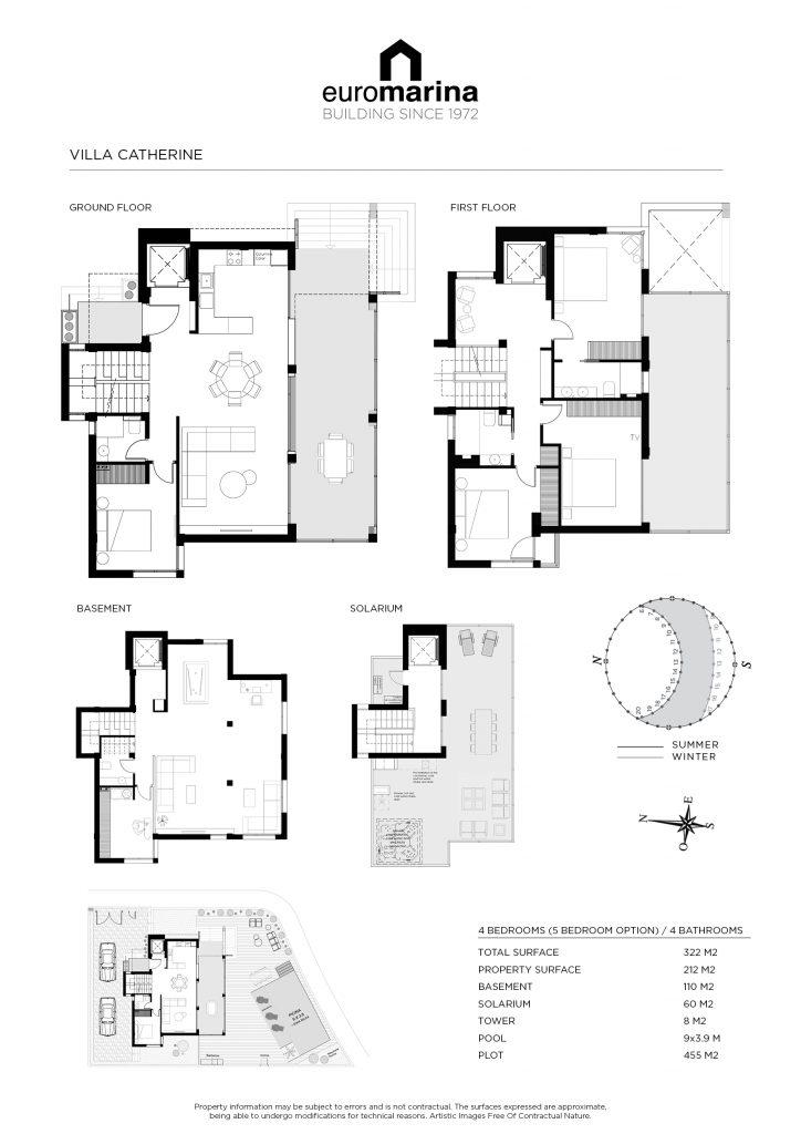 plan villa catherine 2