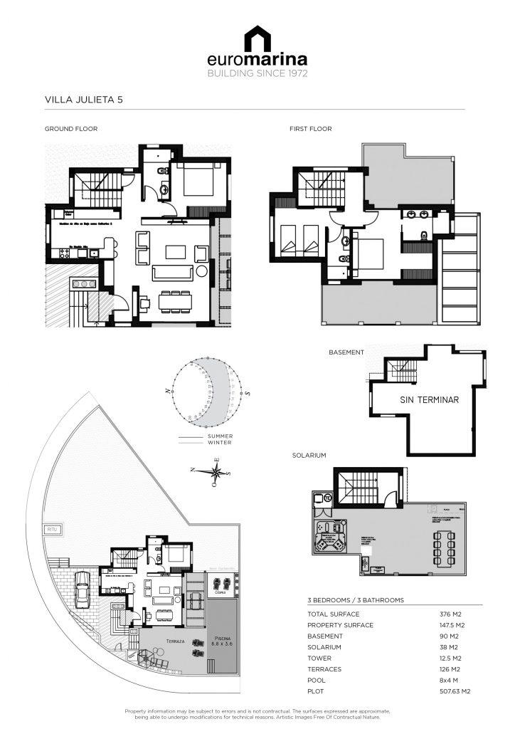 Plano Villa Julieta 5