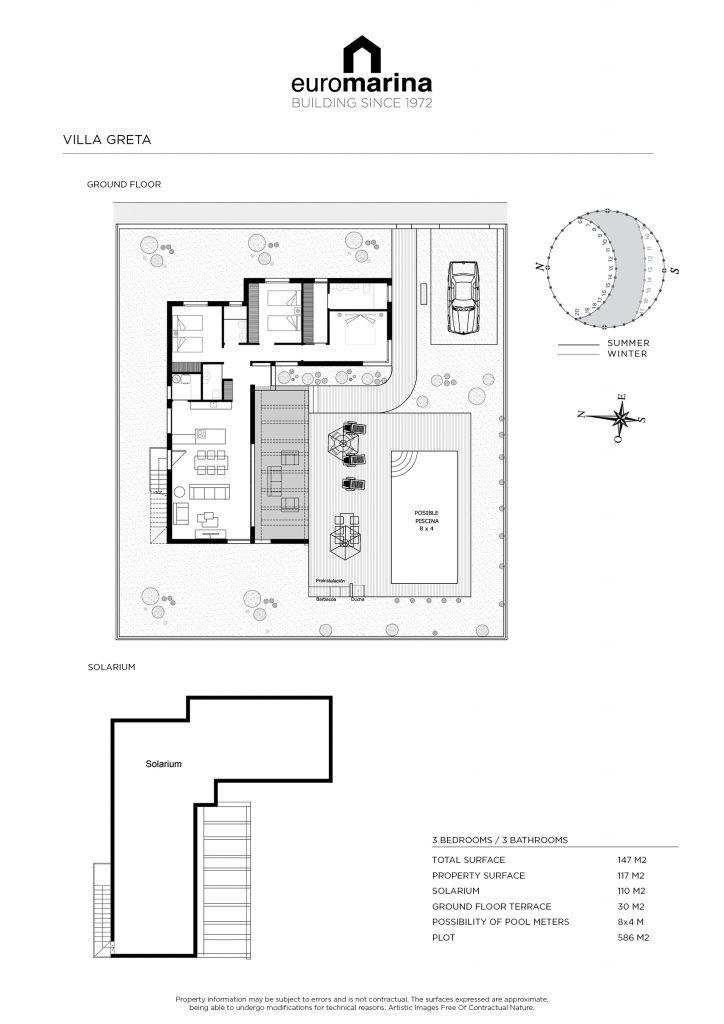 plan villa greta
