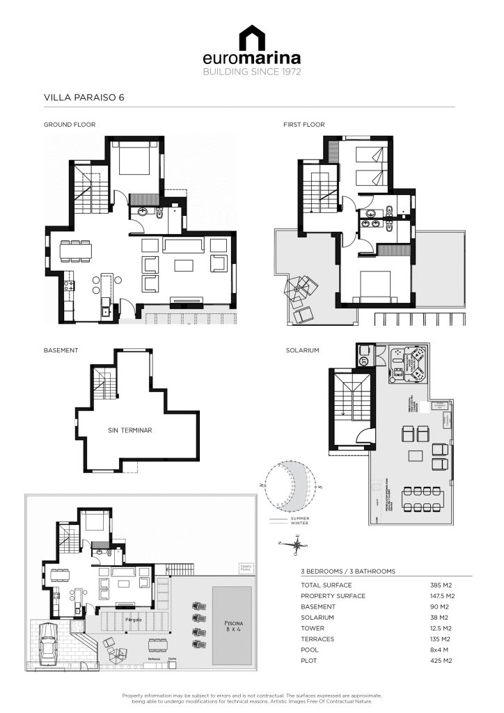 Plano Villa Paraiso 6
