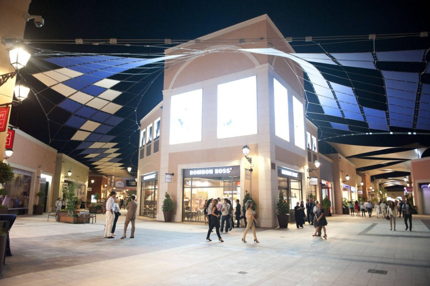 Shopping at La Zenia Boulevard