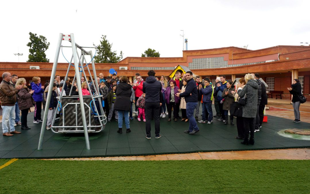 Adapted Park at Special Education Centre ALPE inauguration
