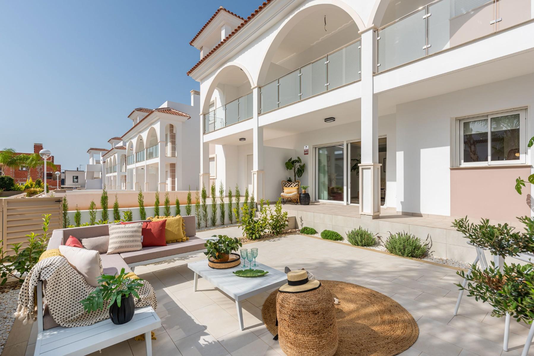 Jardín en apartamento Fortuna Residencial