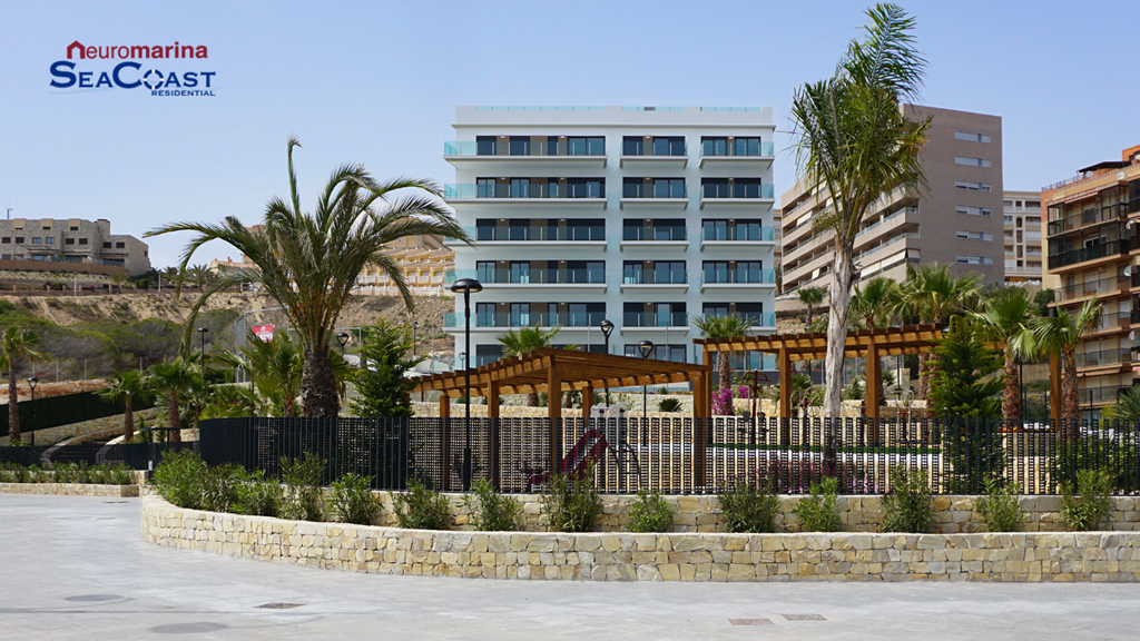 New Frontline Apartments in Los Arenales