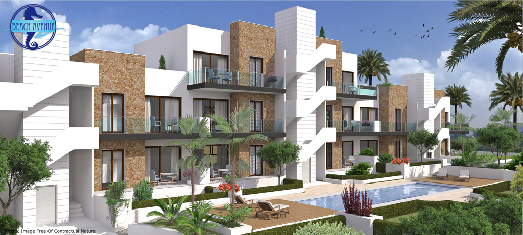 New Modern Style Apartments in Arenales del Sol