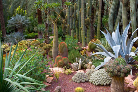 El Huerto del Cura, идиллический сад